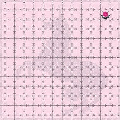 Tula Pink 12 1/2in Squ Unicorn