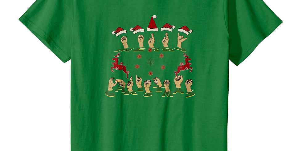 Merry Xmas Tshirt with Scan N Cut - NEW