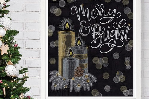 Merry & Bright Tiling Scene By Shannon Roberts - CD ONLY