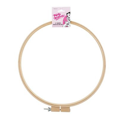 Nifty Notions Wood Hand Embriodery Hoop 14 in