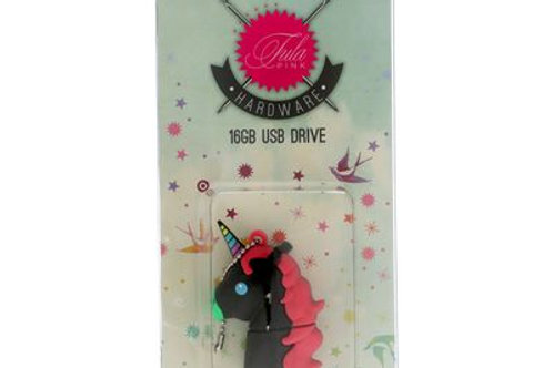 Tula Pink USB Unicorn BK 16 GB