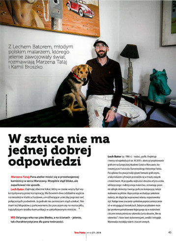 TERAZ POLSKA interview