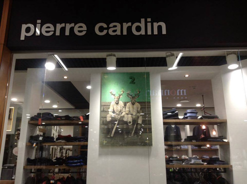 Pierre Cardin shop