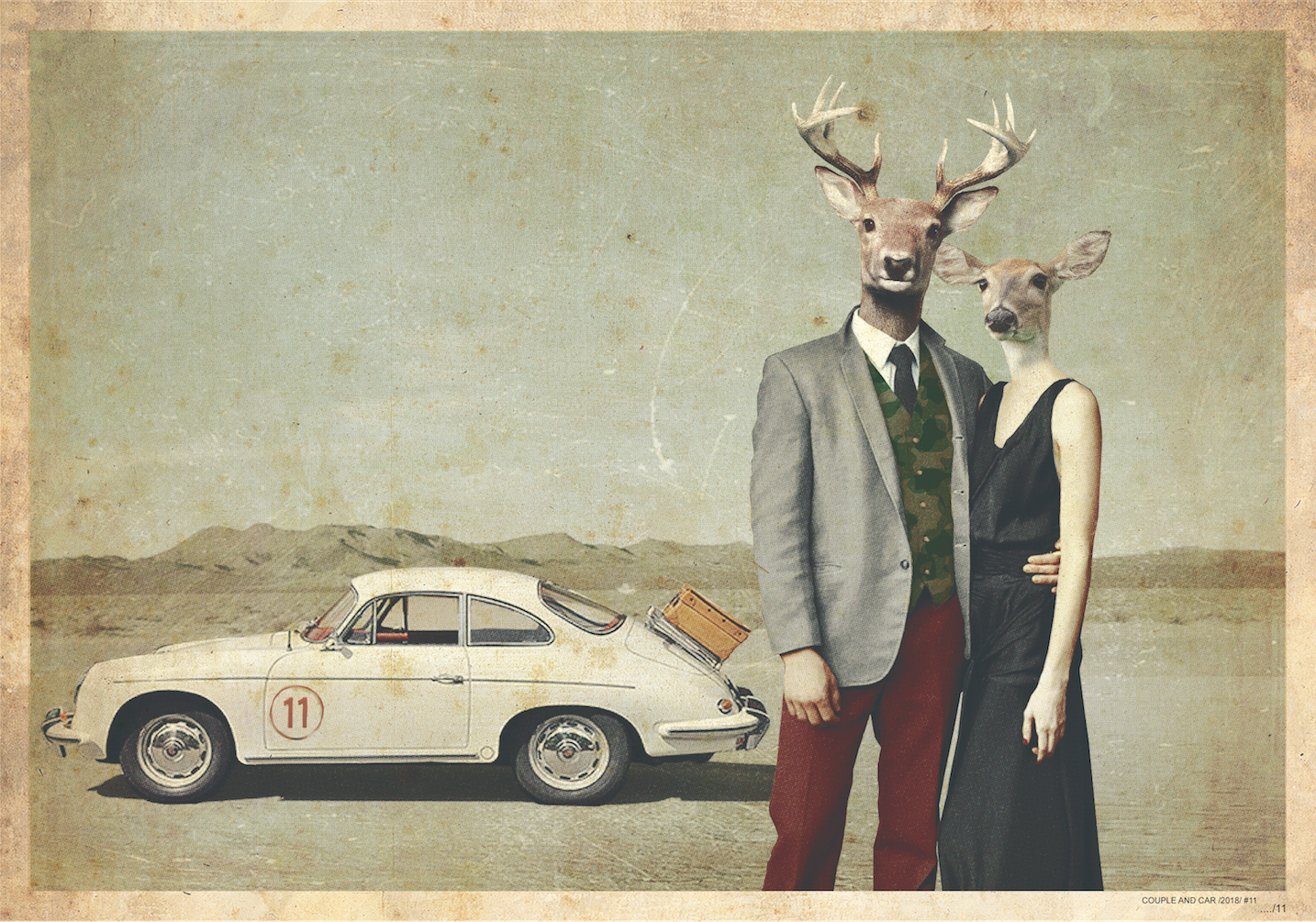 COUPLE AND CAR