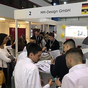 Übungsfirmenmesse Mannheim 2019