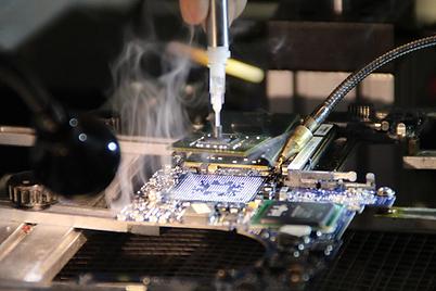 Packard Bell Mainboard Reparatur