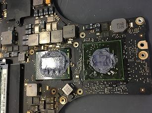 Macbook Logicboard Reparatur