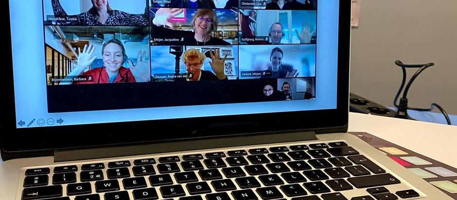 Online podcast-training voor medewerkers van Hogeschool Inholland