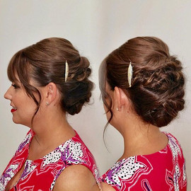 Wedding Updo by Taryn