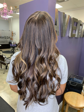 Long Hair by Arlene