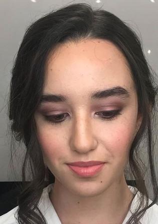 Soft Smokey Eye Makeup and Hair by Yanet