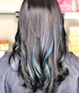 Blue Balayage by Taryn