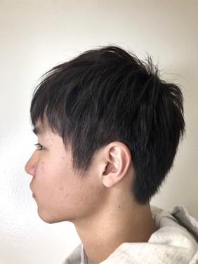 Mens cut by Sayuri
