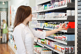 Girl in Pharmacy