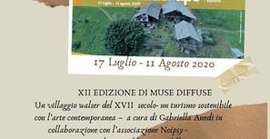 UN NIDO PER UN SOUNDSCAPE itinerario d'arte con Emilia Persenico XII edizione di MUSE DIFFUSE