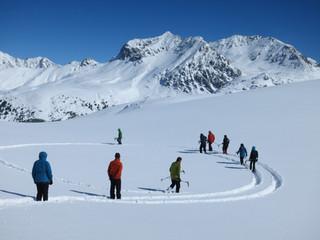 Schneeschuhwandern im Val Müstair  mit Arcatour Datum 2019 folgt