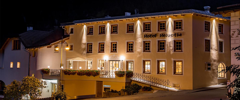 Hotel Helvetia Im Engadin Val Müstair Graubünden Spa Und Wellness