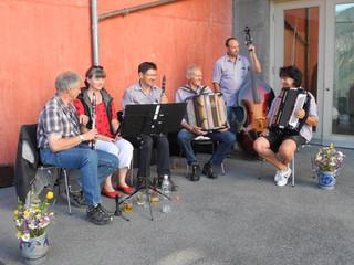 Konzert  Chapella Val Mora  sind gespannt auf den nächsten Auftritt