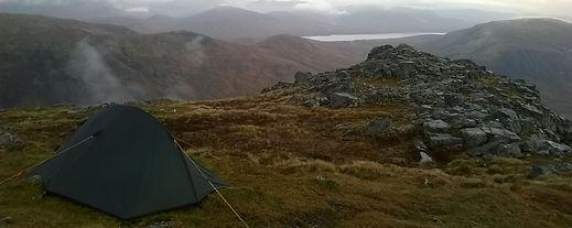 Wild Camping in Glencoe