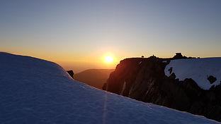 Ben Nevis Summit early morning