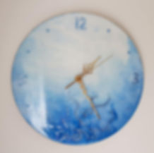 blue dream Clock
