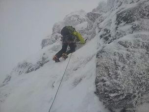 Winter Climbing in Glencoe