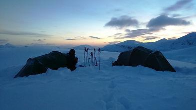 High Winter Wild Camping