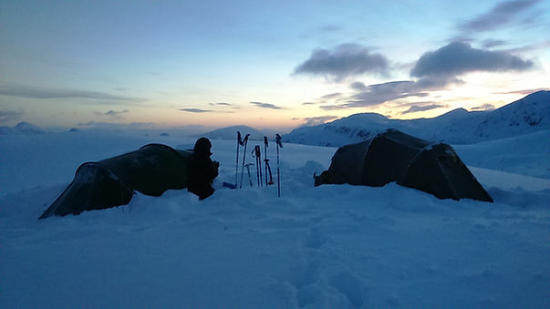 Winter Camping with Rich Mountain Experiences