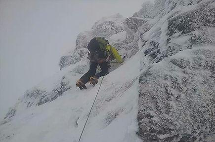 Aonach Eagach Winter Guiding