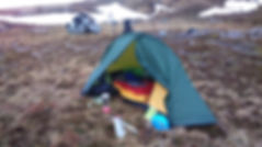 High Wild Camping