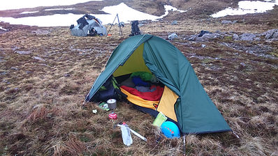 High Wild Camping