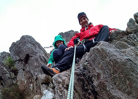 Rock Climbing in Polldubh