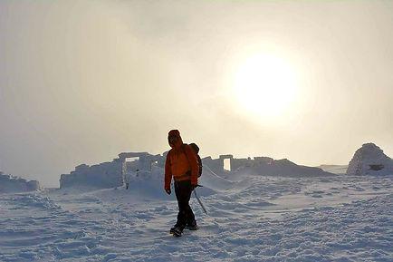 Ben Nevis in early Winter Season