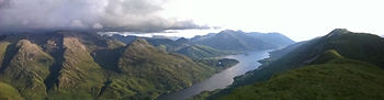 Loch Leven from The Mamores.