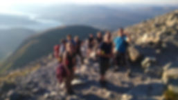 A Group on The Tourist Track, Ben Nevis