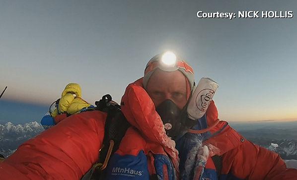 Nick Hollis Everest Summit 2019