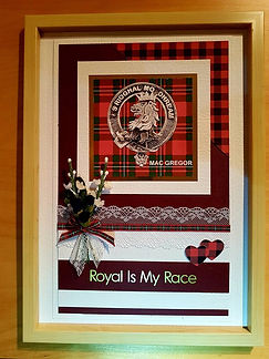 Scotish Clan Wall Hanging