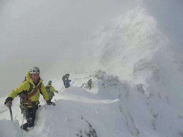 Aonach Eagach in Winter
