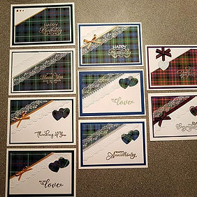Handmade Scottish Cards