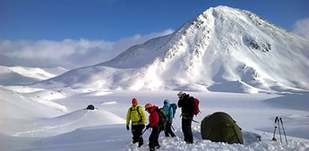 Winter Camping in The Mamores