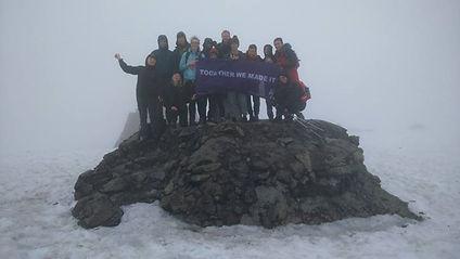 3 Peaks Challenge , Ben Nevis