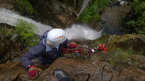 Via Ferrata in Scotland