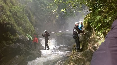 Introduction to the Via Ferrata in Kinlochleven , Scotland