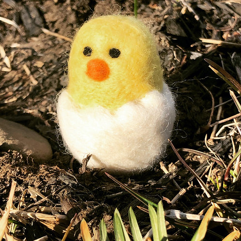 Art Box: Needle Felted Spring Chick