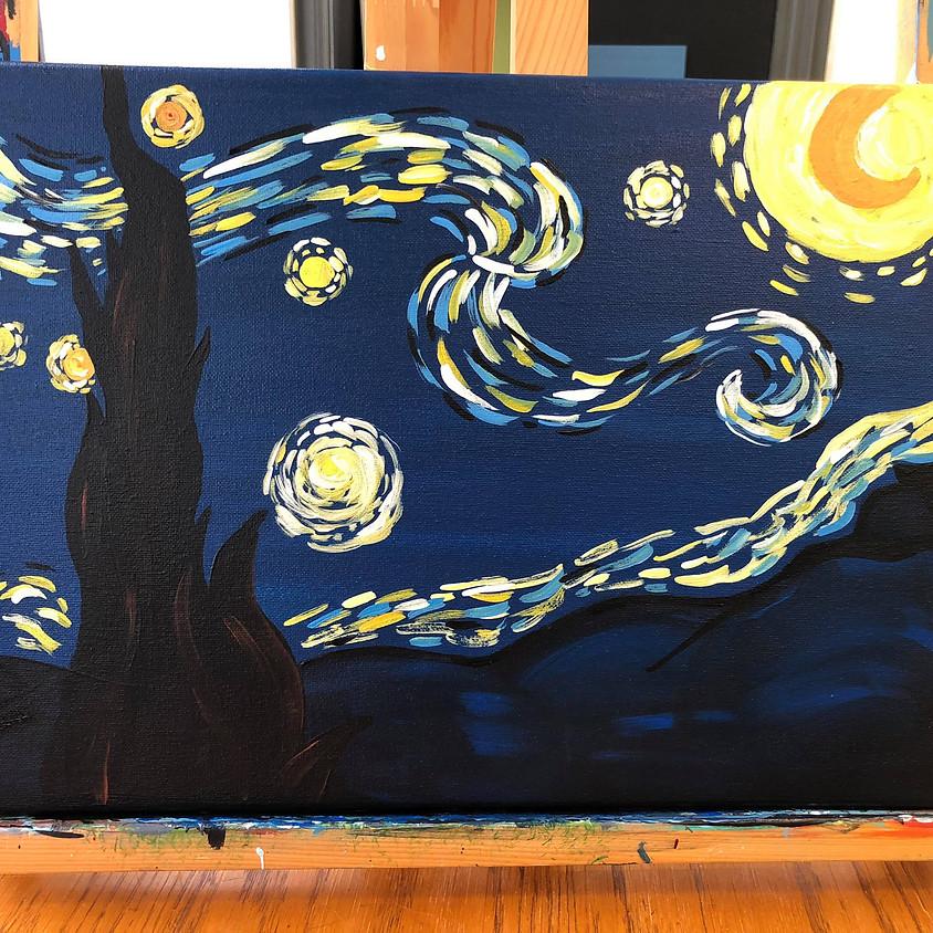 (BYOB) Paint Night @ The Place: Van Gogh's Starry Night