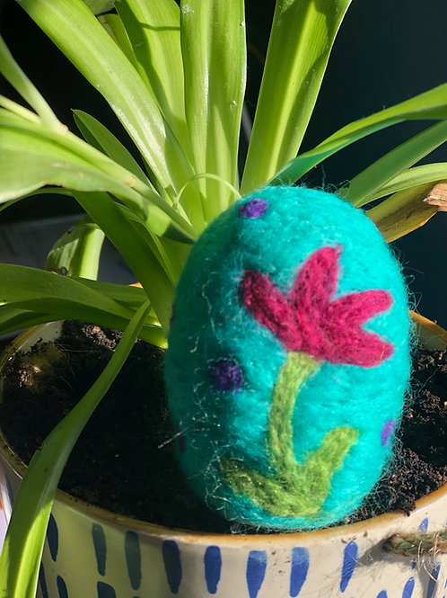 Art Box: Needle Felted Easter Egg