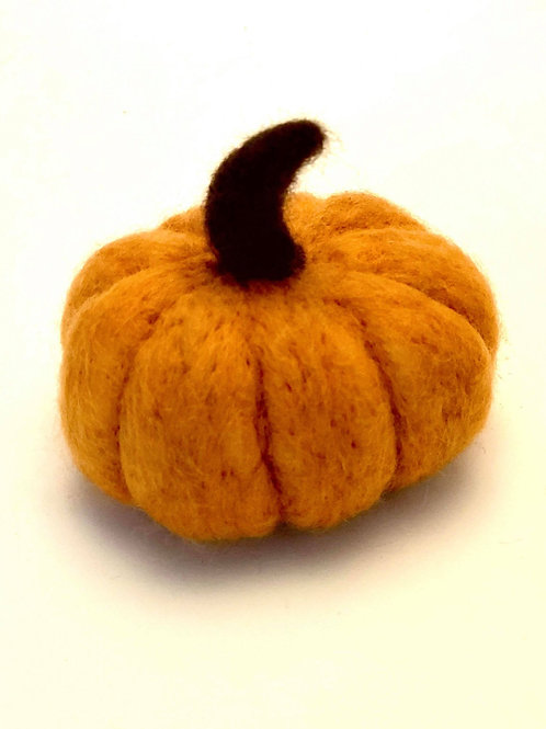Art Box: Needle Felted Pumpkin