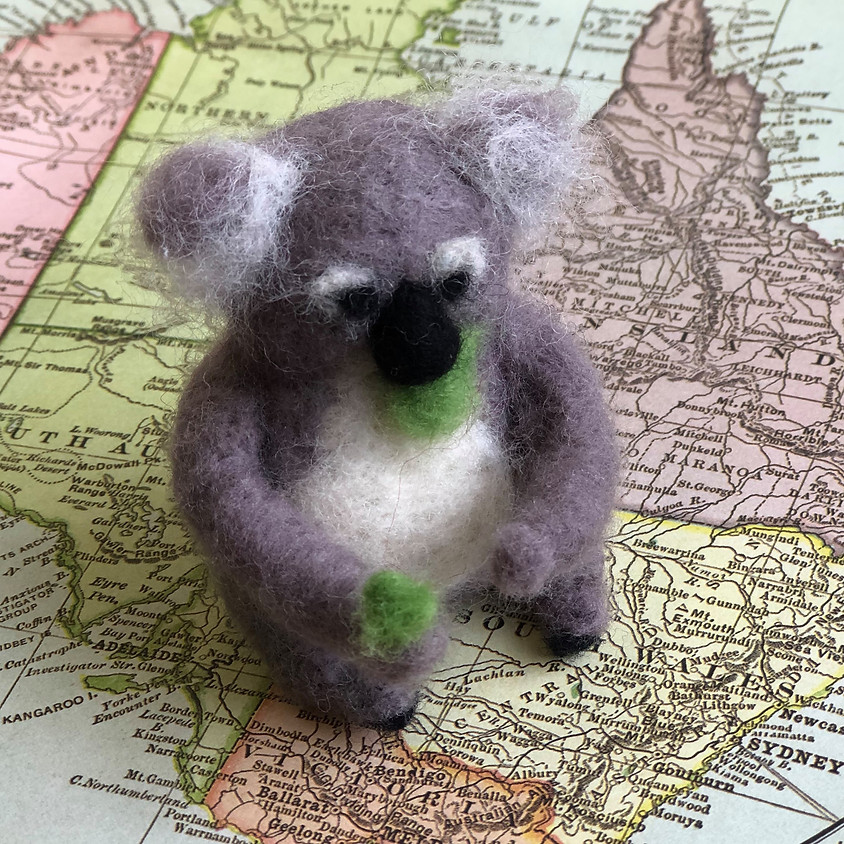 SOLD OUT! Needle Felted Koalas