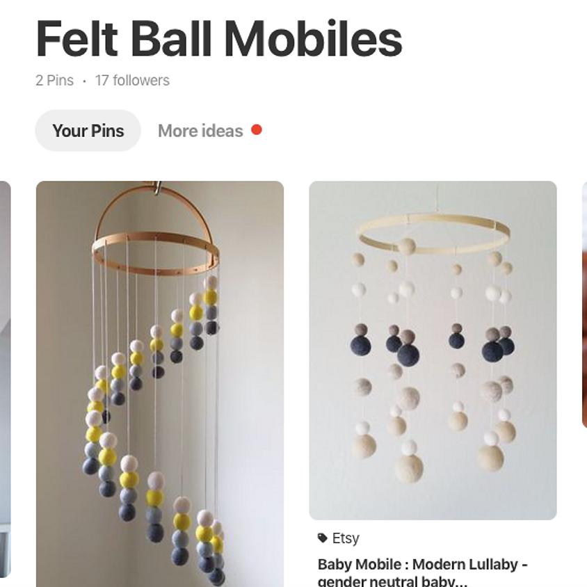 Kids Art!: Felt Ball Mobile
