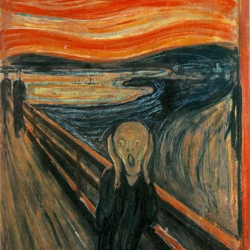 "Needle Felted Edvard Munch's ""The Scream"""